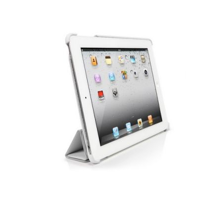 Чехол SGP Leather Case Griff Series White for iPad 2 (SGP07694)