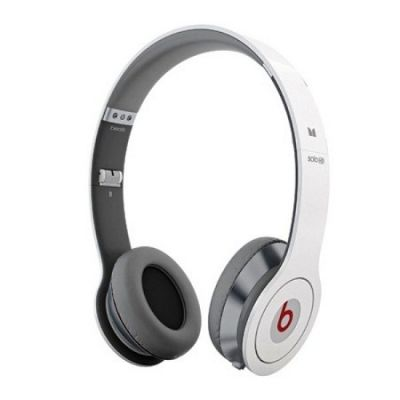 Monster Beats Solo High Definition On-ear Headphones with ControlTalk White