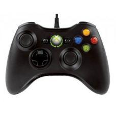 Джойстик проводной Wired Controller Xbox 360 (black)