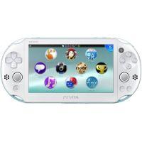 Sony PS Vita Slim 2000 Light Blue/White Wi-Fi + USB кабель + Мягкий Чехол
