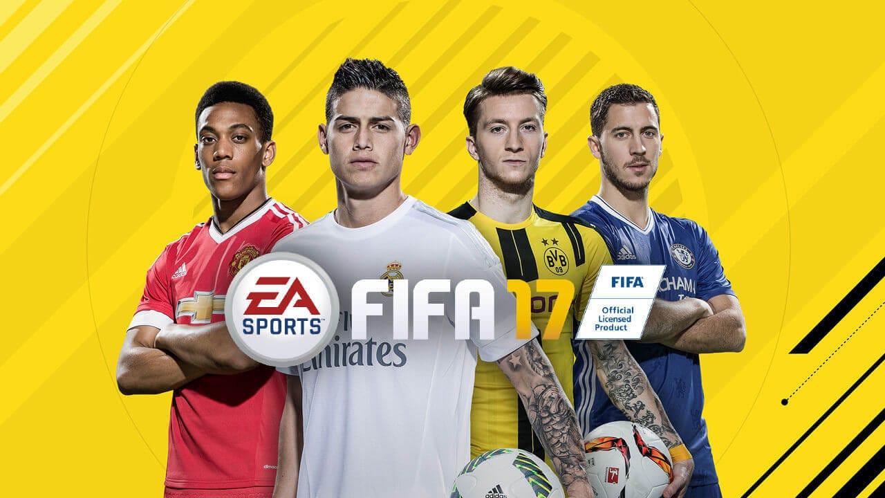 FIFA 17 для двоих игроков