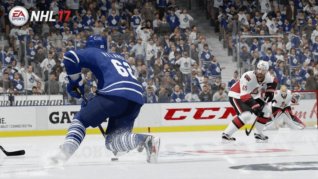 NHL 17 для двоих