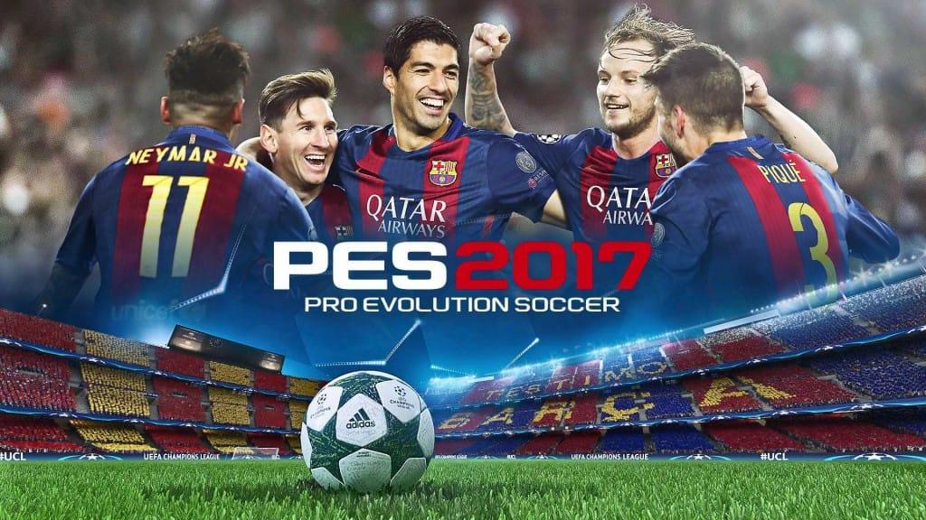 PES 2017 футбольный симулятор для двоих