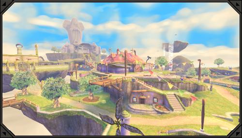 The Legend of Zelda: Skyward Sword HD - открытый мир