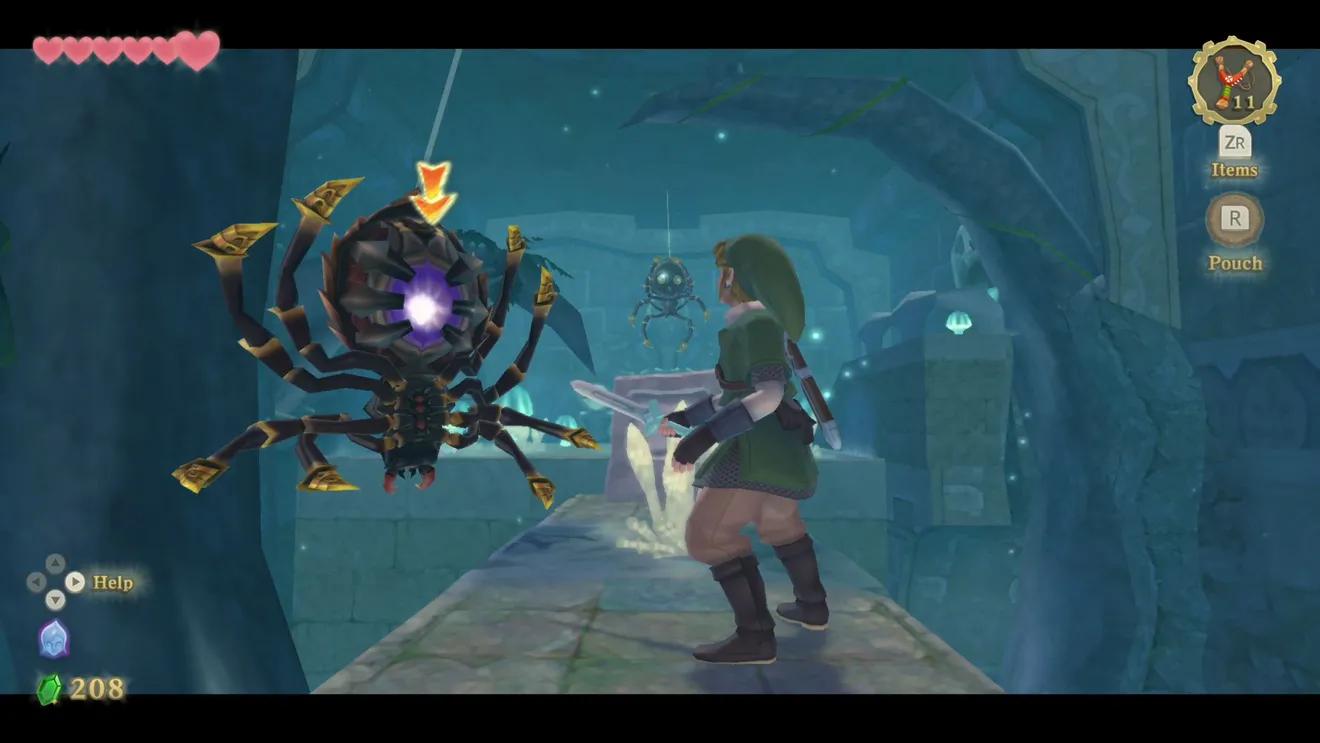 The Legend of Zelda: Skyward Sword HD -подземелье
