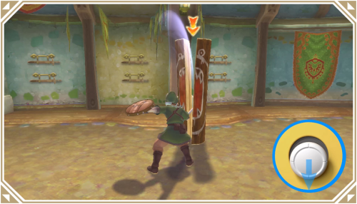 The Legend of Zelda: Skyward Sword HD - геймплей